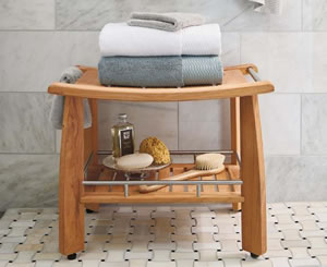 Bench for shower