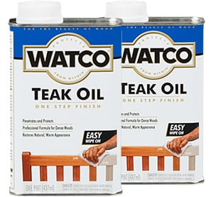 Watco Teak Oil Is One Of The Best Oils For Nut Just But Also Other Dense Woods Such As Rosewood And Mahogany It Works Equally Well Both